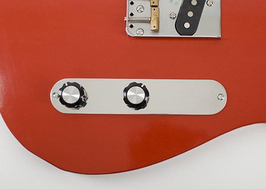 Deuce Tele Control Plate by RockRabbit Guitars