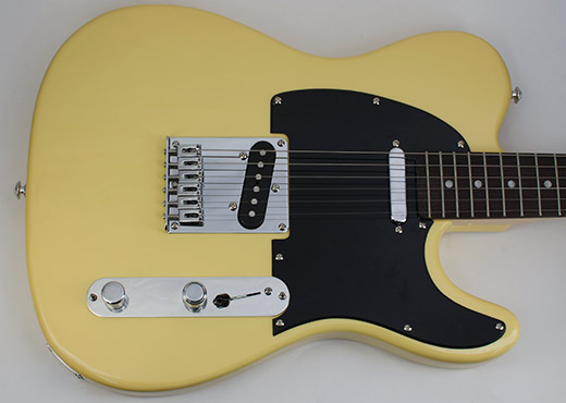 RockRabbit Angled S1 Tele Plate on a Telecaster Guitar