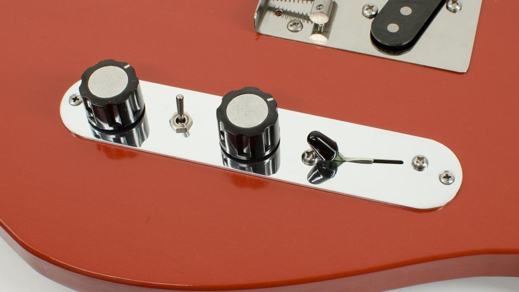 RockRabbit Angled Mini-Switch Telecaster Control Plate