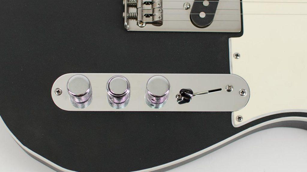 RockRabbit Angled Piezo Telecaster Control Plate