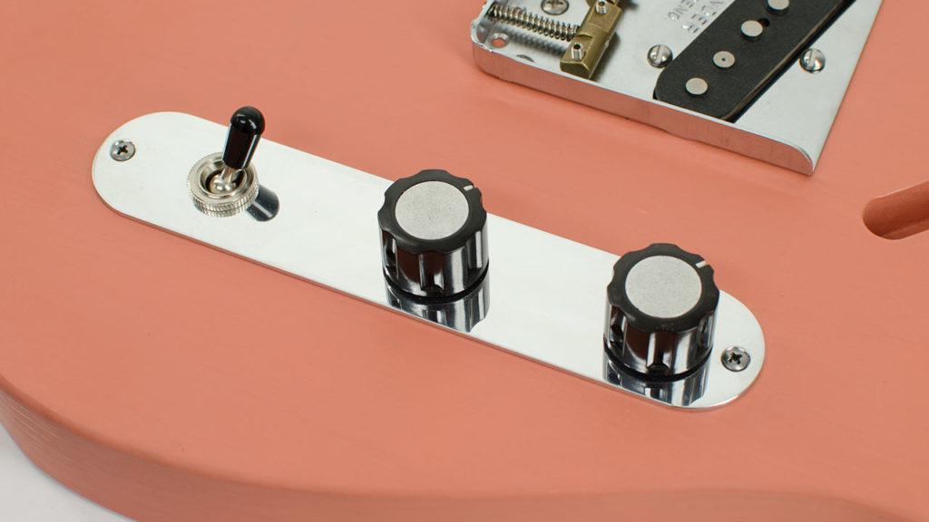 RockRabbit LP Toggle Telecaster Control Plate