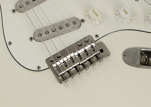 RockRabbit Vintage Improved Stratocaster Trem with Titanium Strat Saddles