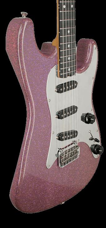 Purple Sparkly Basic Bitch Guitar animation